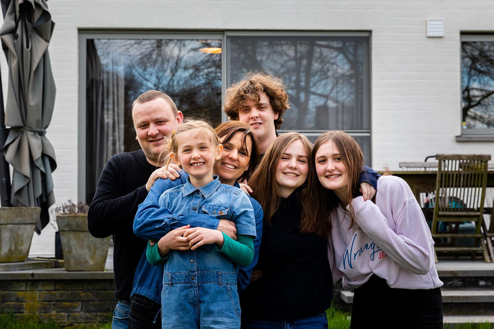 Stijn en gezin