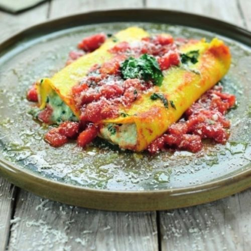 canneloni ricotta spinazie foodgezind